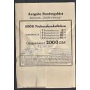 Verpackungszettel für Großgebinde ( 1000 Stück!!) von Markenheftchen 19