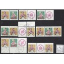 Mi. Nr. 1723/1724 W1-26 und W17 ohne L bedarfsgestempelt