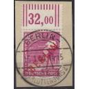 Mi. Nr. 29 W zentrisch  gestemelt auf Briefstück