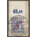 Mi. Nr. 32 P zentrisch  gestemelt auf Briefstück
