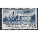 Baden Mi. Nr. 46 II zentrisch gestempelt Fotoattest