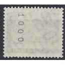 Mi.Nr. 152 xvK kopfstehende Nummer geriffelter Gummi postfrisch Rollenanfang Nummer 1000!postfrisch gerade oder ungerade Nummer