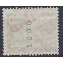 Mi.Nr. 146 xv geriffelter Gummi postfrisch Rollenanfang Nummer 1000