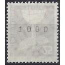 Mi.Nr. 147 xw glatter Gummi postfrisch Rollenanfang Nummer 1000