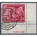 Mi. Nr. 315 Eckrand rechts unten mit Druckvermerk fast zentrisch bedarfsgestempelt
