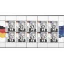 Mi. Nr 2960 Helmut Kohl Bundeskanzler, Kanzler der Einheit postfrischer 10er Bogen