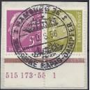 W 11 HAN zentrisch gestempelt auf Briefstück