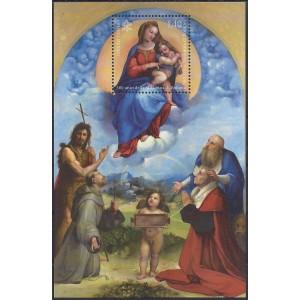2 Blöcke Vatikan postfrisch mit Motiv von Block 79