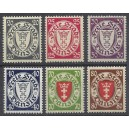 Mi.Nr. 245-250 postfrisch