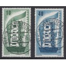 Mi. Nr. 241/42 mit zentrischem Berlin-Charlottenburg-Stempel