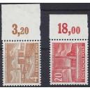 Mi. Nr. 112/113 mit Oberrand, bzw. Seitenrand postfrisch