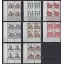 Mi. Nr. 242-249 in ERV lu postfrisch
