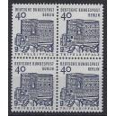 Mi. Nr. 245 Viererblock postfrisch