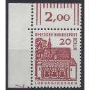 Mi. Nr. 244 Eckrand lo mit Dz 7 postfrisch