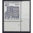 Mi. Nr. 245 Eckrand ru mit Fn 1 postfrisch