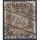 Mi. Nr. 355 x B zentrisch Luxus gestempelt, geprüft Dr. Oechsner