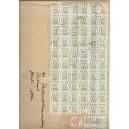Mi. nr. 1691 als Massenfrankatur auf Postzustellungsauftrag