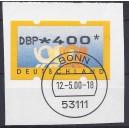3.1 der 4,-- DM Wert gestempelt auf Briefstück einzeln!!!