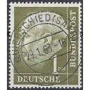 Mi. Nr. 194 w Luxus zentrisch gestempelt