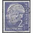 Mi. Nr. 195 v Luxus zentrisch gestempelt