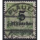 Mi. Nr. 333 A Luxus zentrisch gestempelt, geprüft Infla Berlin