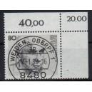 Mi. Nr. 1350 im Eckrand rechts oben KBWZ Weiden Stempel