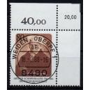 Mi. Nr. 1357 im Eckrand rechts oben KBWZ Weiden Stempel