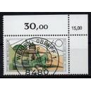 Mi. Nr. 1369 im Eckrand rechts oben KBWZ Weiden Stempel