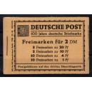 Markenheftchen 1 Luxus gestempelt Berlin-Charlottenburg as