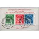 Michel Block Nr. 1 mit Berliner Sonderstempel Grüne Woche Berlin-Charlottenburg