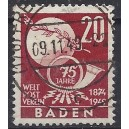 Baden Mi. Nr. 56 Luxus zentrisch gestempelt