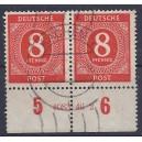 Mi. Nr. 917 Hausauftragsnummer gestempelt
