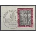 Mi. Nr. 14Mi. Nr. 140  Luxus auf Briefstück mit Sonderstempel Berl0  Luxus zentrisch mit  dem passenden Sonderstempel gestempelt