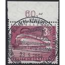 Mi. Nr. 154v Oberrandstück zentrisch Luxus gestempelt mit Originalgummi