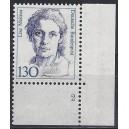 Mi. Nr. 1366 Eckrandstück rechts unten mit Formnummer 2