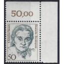 Mi. Nr. 1304 Eckrandstück rechts oben mit fehlendem Zähnungsloch