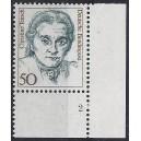 Mi. Nr. 1304Eckrandstück rechts unten mit fehlendem Zähnungsloch mit Formnummer 2