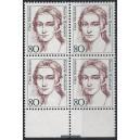 Mi. Nr. 1305 Unterrandvierer mit Markierungsstrich
