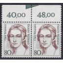 Mi. Nr. 1305 Oberrandpaar mit Seitenkantenmarkierung