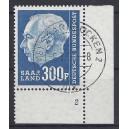 Mi. Nr. 428 Eckrand rechts unten mit Formnummer 2
