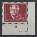 Mi. Nr. 254 im Eckrand rechts unten mit Druckvermerk postfrisch