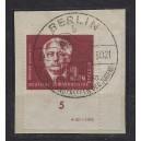 Mi. Nr. 254a im Eckrand rechts unten mit Druckvermerk auf Briefstück. Schön gestempelt und geprüft von Mayer.