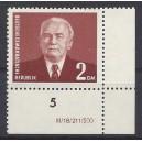Mi. Nr. 343 IXI postfrisch Eckrand rechts unten mit Druckvermerk
