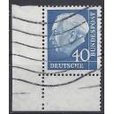 Mi. Nr. 260 w Eckrand links unten