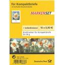 FB 1ba postfrisch Blumen Narzisse mit gelbem Aufkleber mit rotem Raster. Extrem selten!!