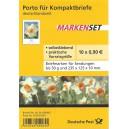 FB 1c postfrisch Blumen Narzisse.