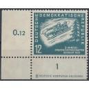 Mi. Nr. 280 Druckerzeichen Eckrand links unten postfrisch