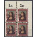 Mi. Nr. 148 II postfrisch Eckrandviererblock rechts oben