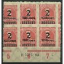 Mi. Nr. 312 B postfrisch mit Hausauftragsnummer und sehr schöner Verzähnung! Unikat!!