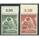 Mi. Nr. 80-81 Oberrandstücke postfrisch